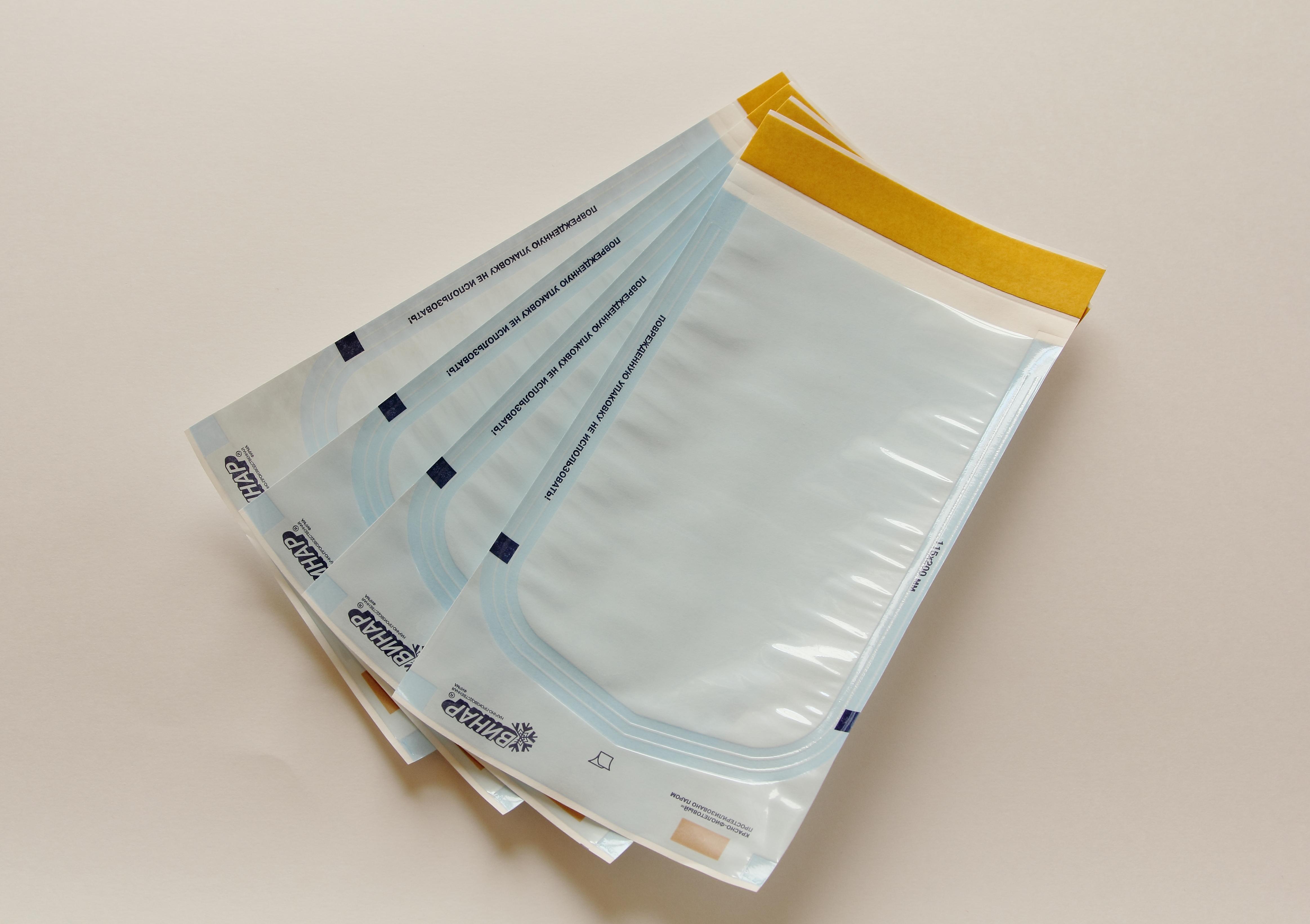 Бумага крепированная для стерилизации цвета